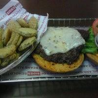 Photo taken at Smashburger by Petey P. on 4/27/2012