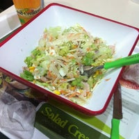 Photo taken at Salad Creations by Gabriela G. on 3/16/2012