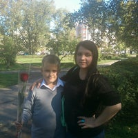 Photo taken at Школа № 1 by Юлия Крючкова💋 on 9/1/2012