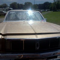 Photo taken at Dragway 42 by Angela P. on 8/19/2012