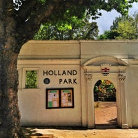 Photo taken at Holland Park by ibo •. on 7/9/2012