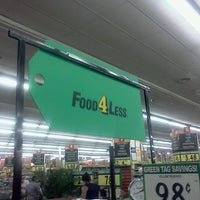 Photo taken at Food 4 Less by Elvi B. on 8/21/2012