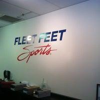 Photo taken at Fleet Feet Sports by Halleemah N. on 6/23/2012