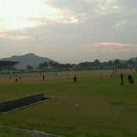 Photo taken at Brigif Running Track by Firman S. on 3/16/2012