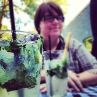 Photo taken at Salut Bar Americain by Jason C. on 8/26/2012