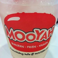 Photo taken at MOOYAH Burgers, Fries & Shakes by Kristi T. on 3/28/2012
