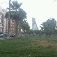 Photo taken at Al Corniche Walk by Basma A. on 5/10/2012