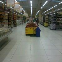 Photo taken at Supermercado Cidade Alternativo by João Pedro F. on 5/19/2012