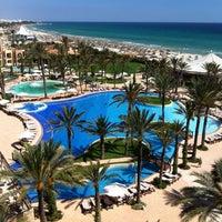 Photo taken at Mövenpick Resort & Marine Spa Sousse by Nicolas D. on 6/5/2012
