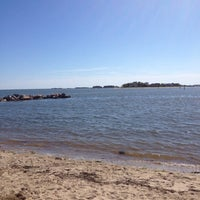 Photo taken at Clinton Beach by Anthony F. on 6/27/2012