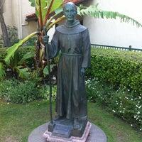 Photo taken at Mission San Buenaventura by Ann F. on 4/5/2012