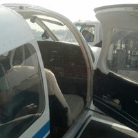 Photo taken at Waukesha County Airport (UES) by J W. on 8/25/2012