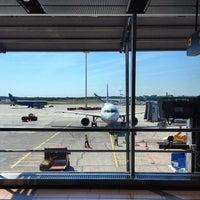 Photo taken at Hamburg Airport Helmut Schmidt (HAM) by Marcus B. on 7/23/2012