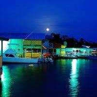 Photo taken at Bioluminescent Bay @ Fajardo by Jojo W. on 7/12/2012