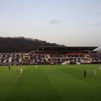 Photo taken at Estádio da Madeira by Daniela B. on 3/16/2012