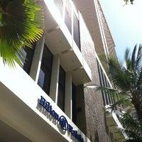 Photo taken at Hilton Waikiki Beach by @MiwaOgletree on 2/27/2012