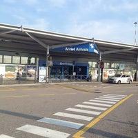 """Photo taken at Aeroporto di Verona """"Valerio Catullo"""" (VRN) by Richard D. on 9/6/2012"""