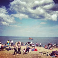 Photo taken at Skegness by Rhys A. on 7/31/2012