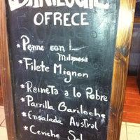 Photo taken at Bariloche Restaurant by Hernan R. on 3/1/2012