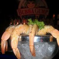 Photo taken at Bubba Gump Shrimp Co. by Cheryl J. on 4/7/2012