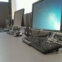 Photo taken at Labo Info 1 & 2 by Michiel G. on 3/20/2012