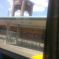 Photo taken at Oakville GO Station by Joshua L. on 8/23/2012
