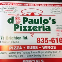 Photo taken at DiPaulo's Pizzeria by Kimmie D. on 6/23/2012