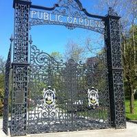 Photo taken at Halifax Public Gardens by Matthew C. on 5/20/2012