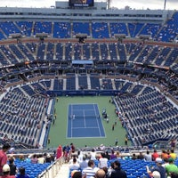 Photo taken at US Open Tennis Championships by Mickey C. on 9/8/2012