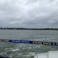 Photo taken at Shelter Island South Ferry - Shelter Island Terminal by Mike on 7/26/2012