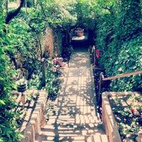 Photo taken at Underground Gardens - Baldasare Forestiere by Jason B. on 5/26/2012
