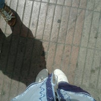 Photo taken at Station Marché Central by Khaoula E. on 7/13/2012