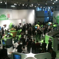 Photo taken at MWC 2012 Android stand by Fabrizio P. on 3/1/2012