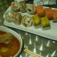Photo taken at Ecogreen Sushi by Francisco Andrés A. on 3/7/2012