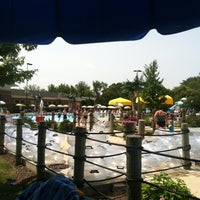 Photo taken at Rainbow Falls Waterpark by Heather C. on 7/5/2012