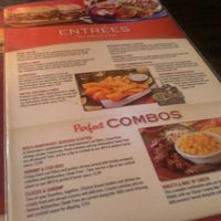Photo taken at Red Robin Gourmet Burgers by Bailey K. on 8/25/2012