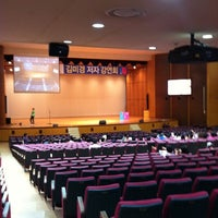 Photo taken at Yonsei University Main Auditorium by Tae-young S. on 9/15/2011