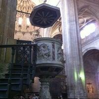 Photo taken at Catedral de Segovia by Paki B. on 8/17/2012
