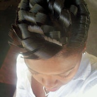 Photo taken at Fields Good Barber And Beauty Shop by Karlett D. on 10/14/2011