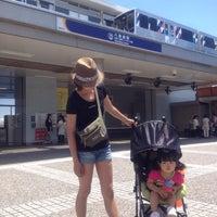 Photo taken at Hakkeijima Station by kingwolf on 6/10/2012