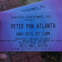 Photo taken at Peter Pan The Show by Nikkie C. on 2/13/2011