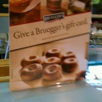 Photo taken at Bruegger's by Jacqueline S. on 1/18/2012