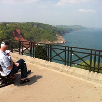 Photo taken at Babbacombe Downs by Richard R. on 4/25/2011