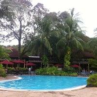 Photo taken at Mutiara Resort Pool by PJ A. on 11/2/2011