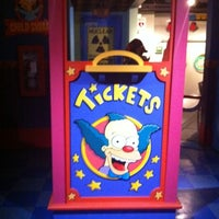 Photo taken at The Simpsons Ride by Ashlie M. on 3/9/2011