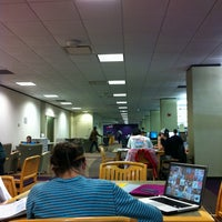 Photo taken at Vernon R Alden Library by April X. on 11/2/2011
