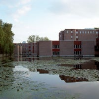 Photo taken at Bibliotheek by Patrick R. on 8/26/2011