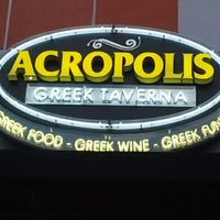Photo taken at Acropolis Greek Taverna by Jesus R. on 2/19/2012