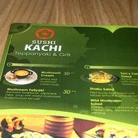 Photo taken at Sushi Kachi by RAY G. on 9/9/2012