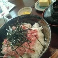 Photo taken at Doraya 定食 by Betty F. on 10/17/2011
